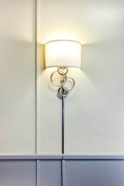 Splashy Plug In Wall Sconce In Home Office Modern With