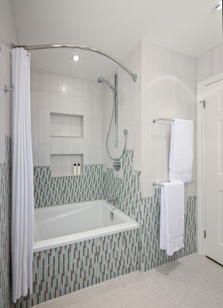 Magnificent The Arc Curved Shower Bar Ideas - Bathroom with ...