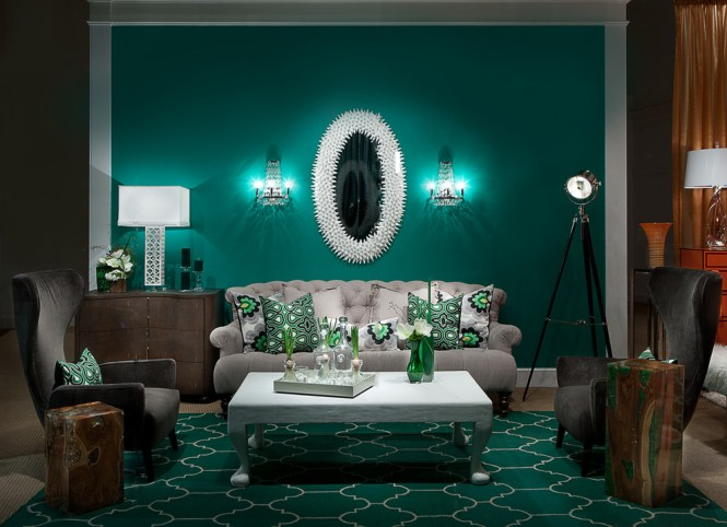 Teal Rugs For Living Room