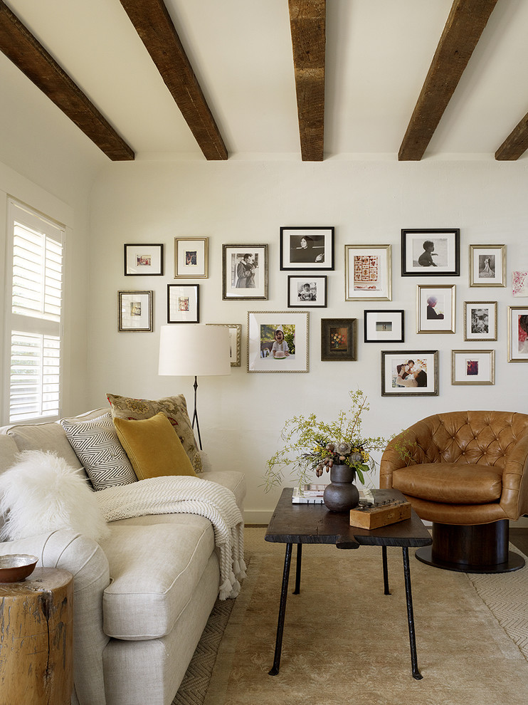 Bright papasan chair frame in Living Room Rustic with False Ceiling Photos  next to Pictures Of Bungalow Homes  alongside Benjamin Moore White Dove  and Black Leather Sofa Ideas