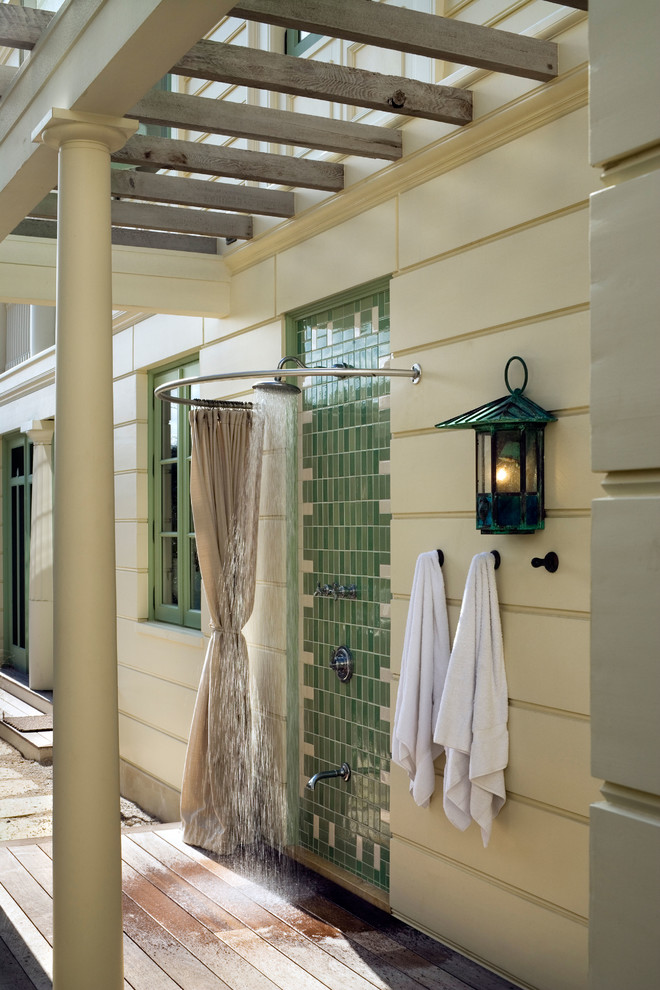 Marvelous Round Shower Curtain Rod Inspiration For Bathroom Eclectic