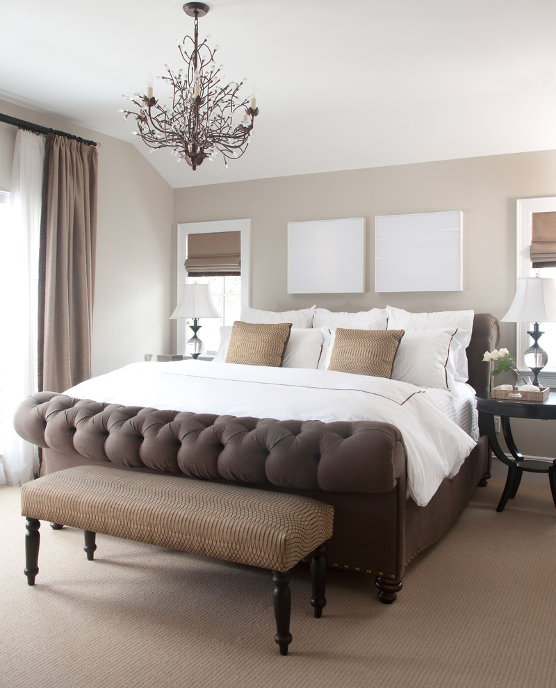Glamorous duck river textile in Bedroom Traditional with One Bedroom Apartment Design  next to Master Bedroom Paint Ideas  alongside Popular Exterior Paint Colours  and Popular Exterior House Colors