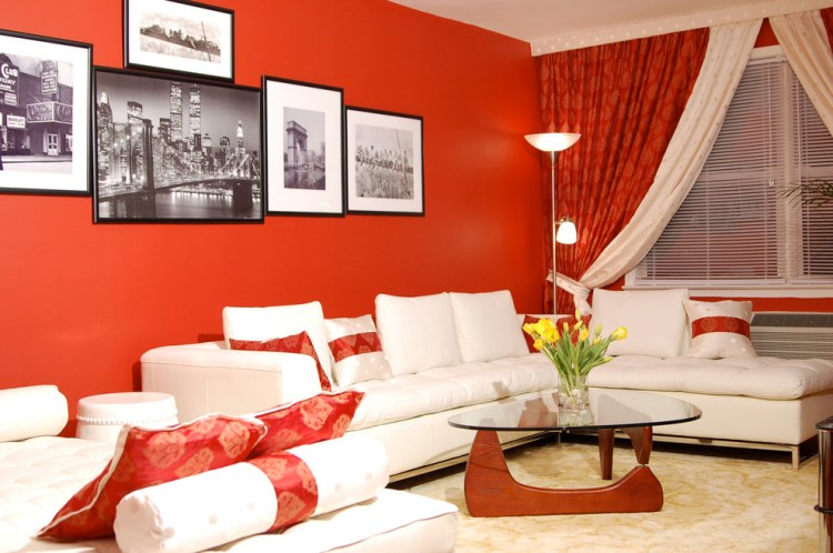 Impressive Torchiere In Living Room Contemporary With Picture Grouping Next To White Living Room Alongside Black White Red Bedroom And Red Accent Wall