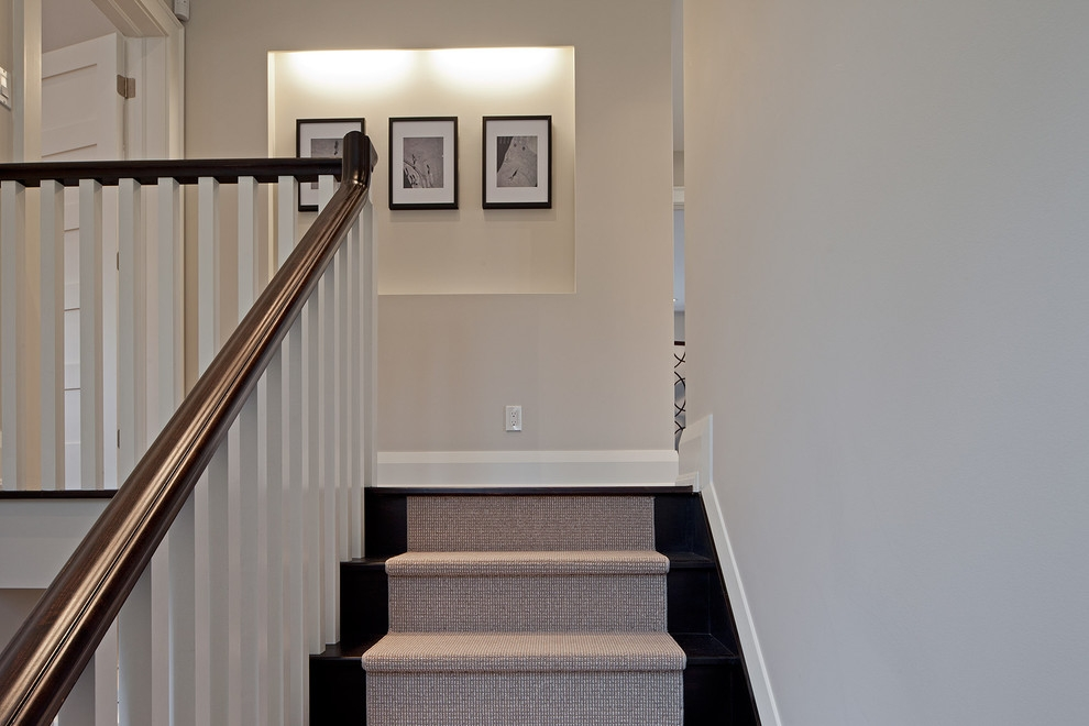 Inspired Stair Treads Carpetin Staircase Traditional With Graceful | Carpet Treads For Wooden Stairs | Commercial Rubber | Rectangular Cord Treads | Carpet Wrapped | Self Adhesive | Different Style Stair