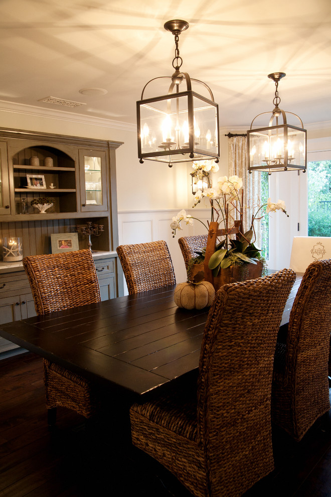 Splashy Seagrass Chairs In Dining Room Contemporary With Seagrass Chairs Next To Painted Hutch