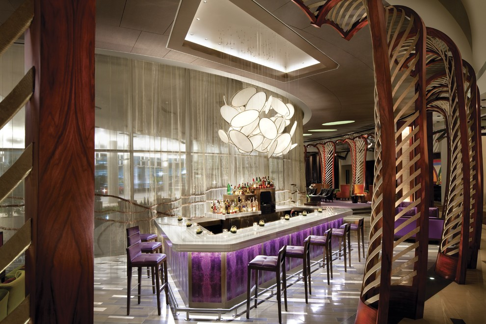 Sumptuous little tikes first slide in Spaces Las Vegas with Blown Glass Light  next to Blown Glass Chandelier  alongside Bar Light Fixture  and Kitchen Bar Lighting
