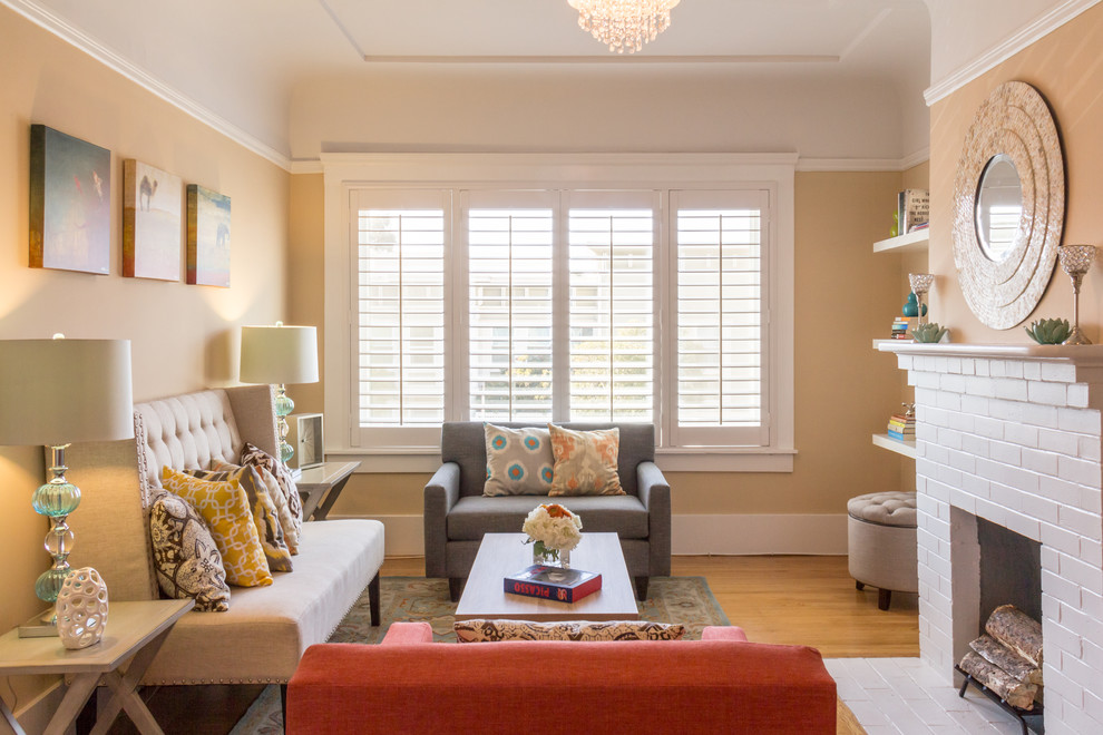 White Shutters  Couch And Loveseat