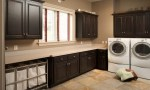 Gorgeous  rolling laundry hamper Inspiration for Laundry Room Transitional