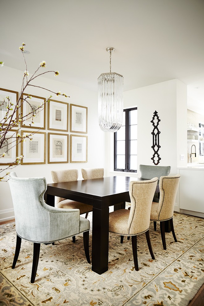 Masculine Wall Art Dining Room Transitional With Framed