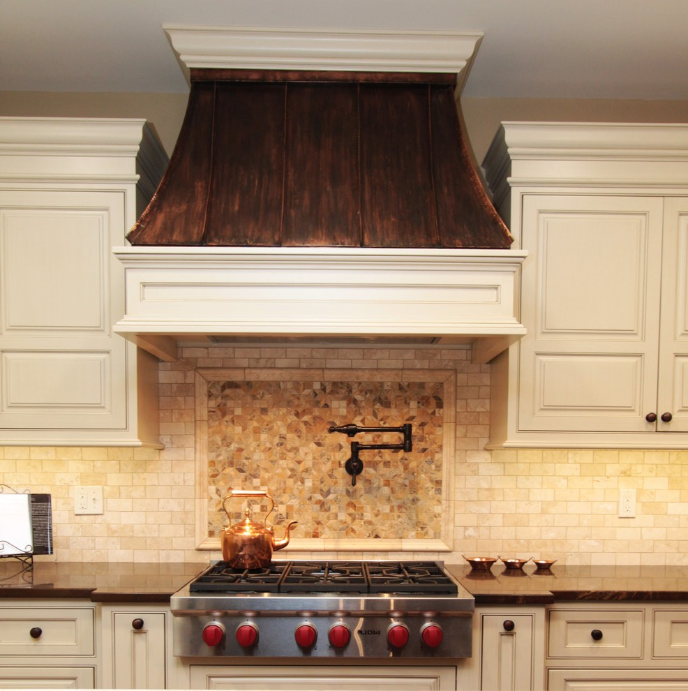 Copper Vent Hoods Traditional Baltimore With Round