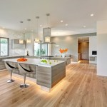 european oak flooring dining room traditional with quartz coutertops glass shade
