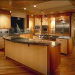 light maple kitchen transitional with butchers block modern toasters4-