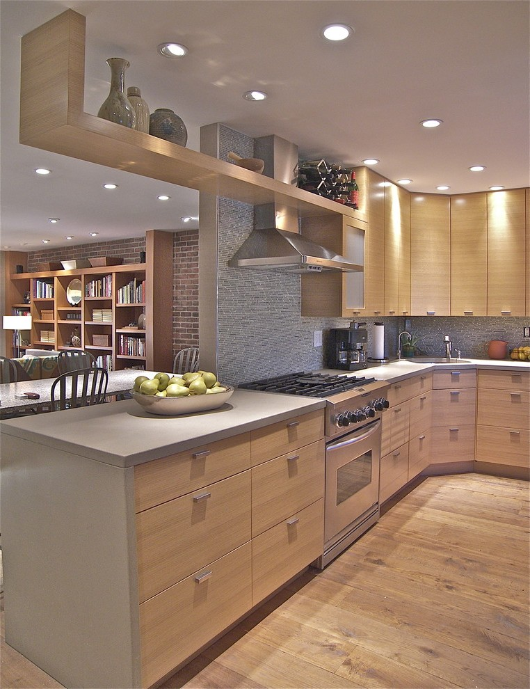 Oak Kitchen Decor