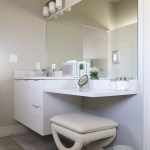 round mosaic mirror powder room contemporary with tiled wall mount bathroom sinks