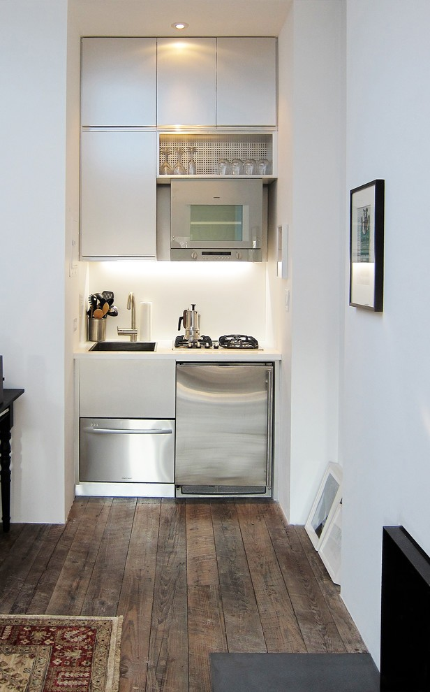 Pretty Studio Apartment Images With Tiny Kitchen New York City