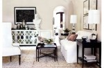 Imaginative Anywhere Console Table with Exposed Hvac Oversized Mirror