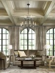 Amazing Coffered Ceiling Images with Stainless Steel Appliances White Kitchen