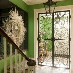 london wrought iron window grills with heating and cooling companies entry eclectic ornate trim metal filagree