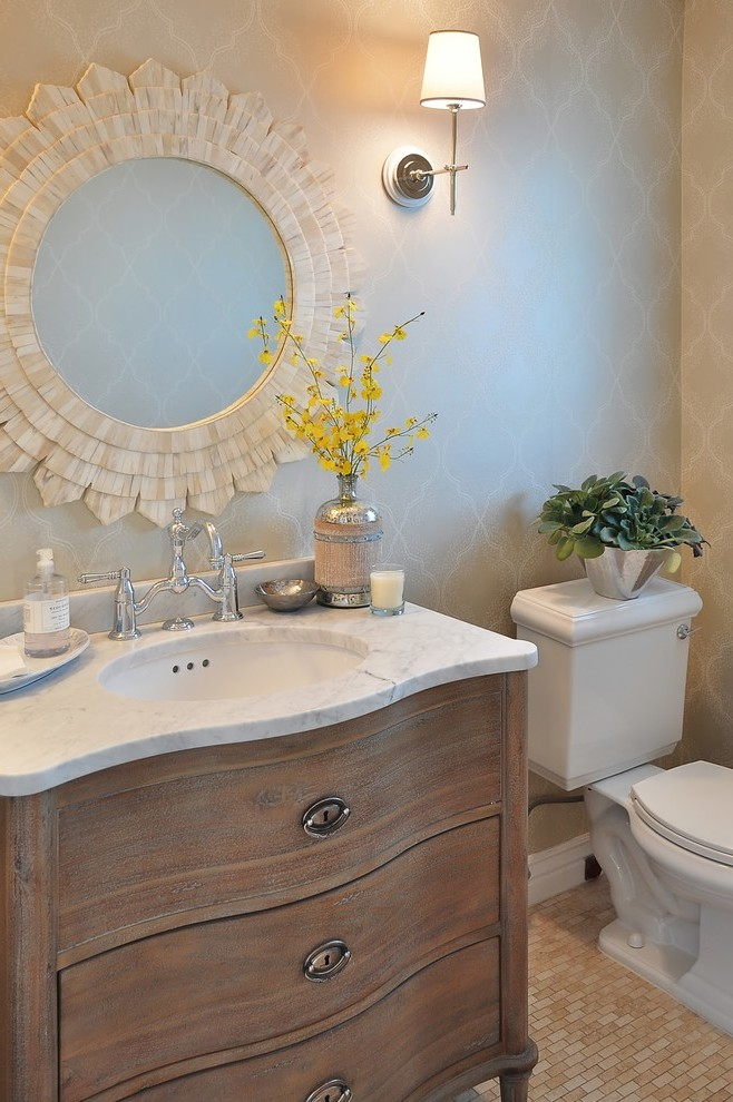 Phoenix Restoration Hardware Bathroom Vanity Powder Room