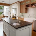 san francisco double farmhouse sink white with dome pendant lights kitchen traditional and gray cabinets french doors