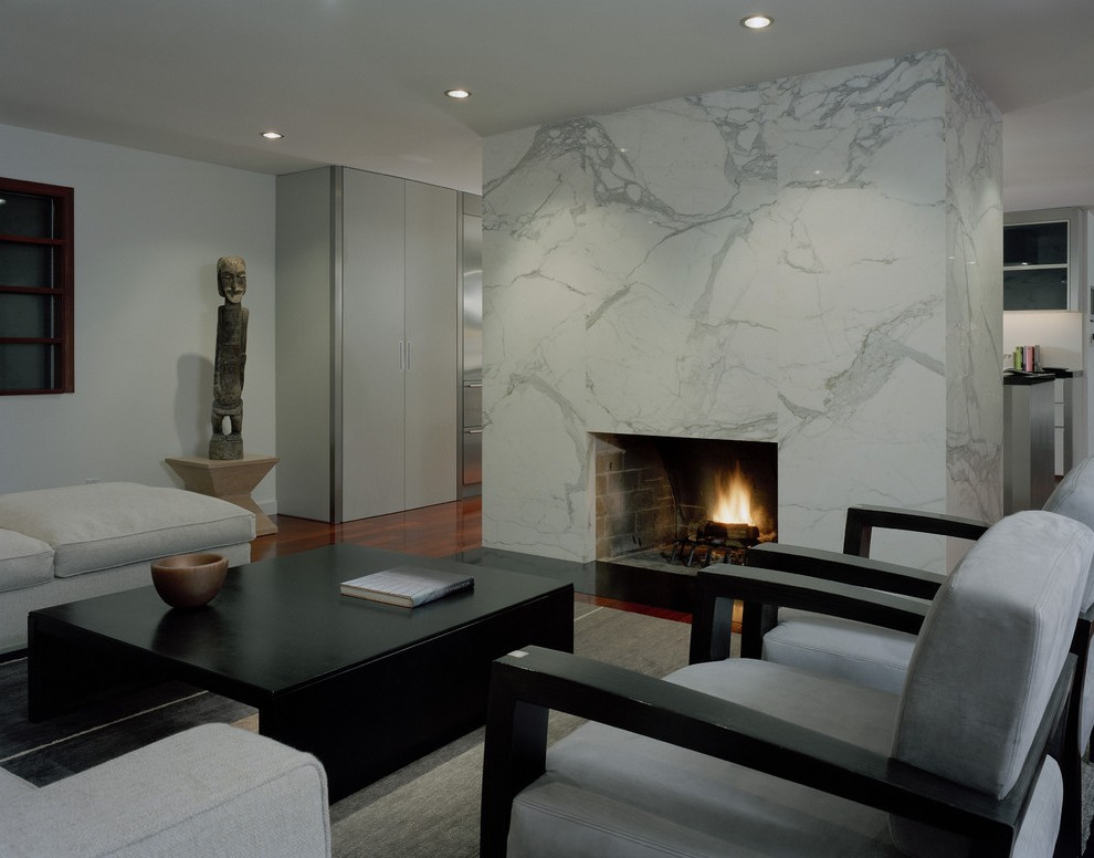 seattle tile fireplace designs living