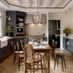 san francisco beautiful interiors of with contemporary kitchen sinks transitional and white farmhouse sink wood bar stool
