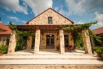 Fabulous Pergola Attached To House Exterior Traditional with Stone Chimney Cape Cod Style Porch