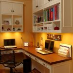 new york overstock corner desk with gold alarm clocks home office traditional and white cabinets yellow wall