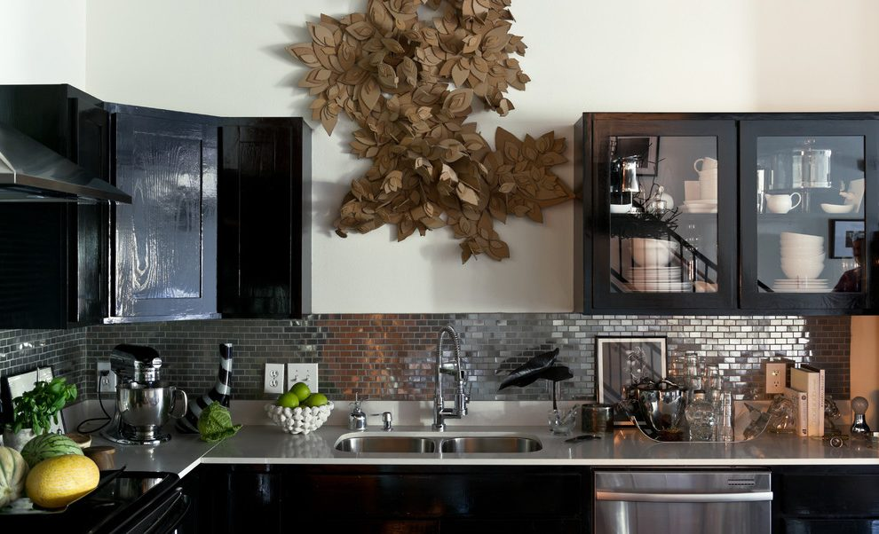 dallas stainless steel subway tile