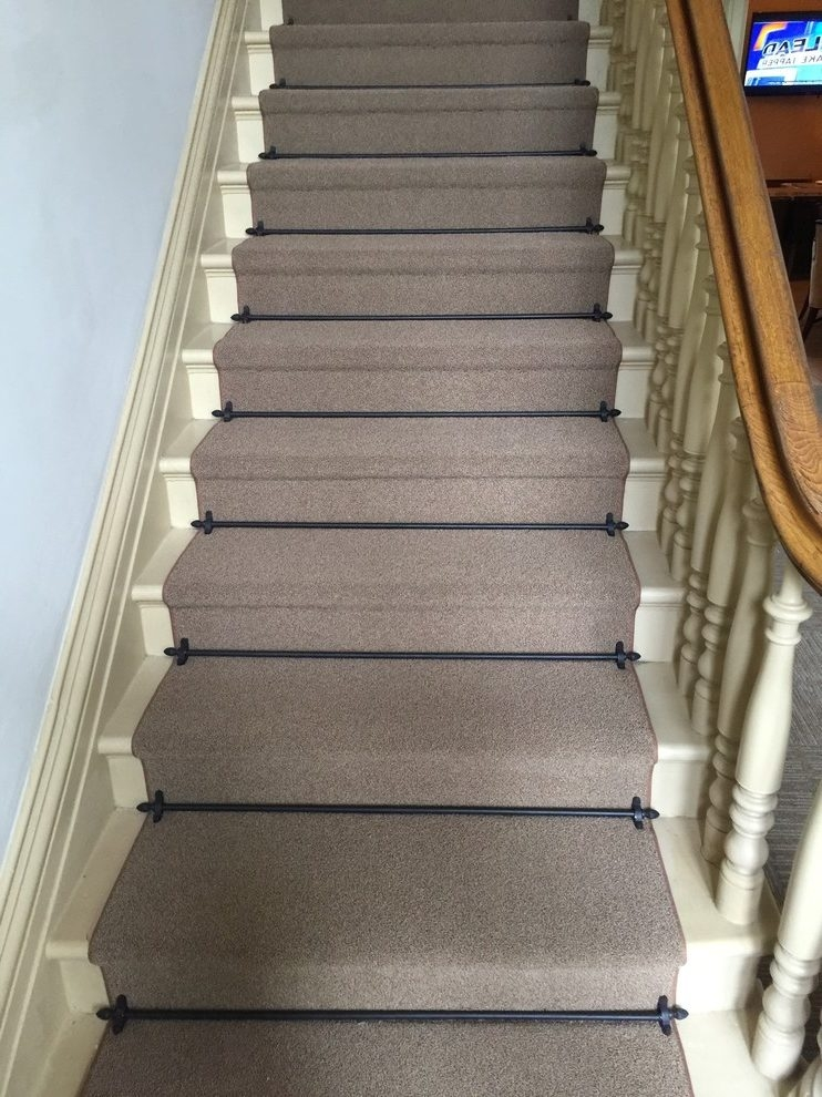 San Francisco Dixie Home Carpet Staircase Traditional With   Commercial Carpet For Stairs   Oak   Interior   Carpeting   Timber   Wool