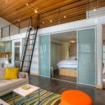 seattle Studio Apartment Room Dividers with traditional lounge chairs living room beach style and contemporary