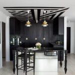 sydney modern bar stools with contemporary kitchen carts home and black white gold
