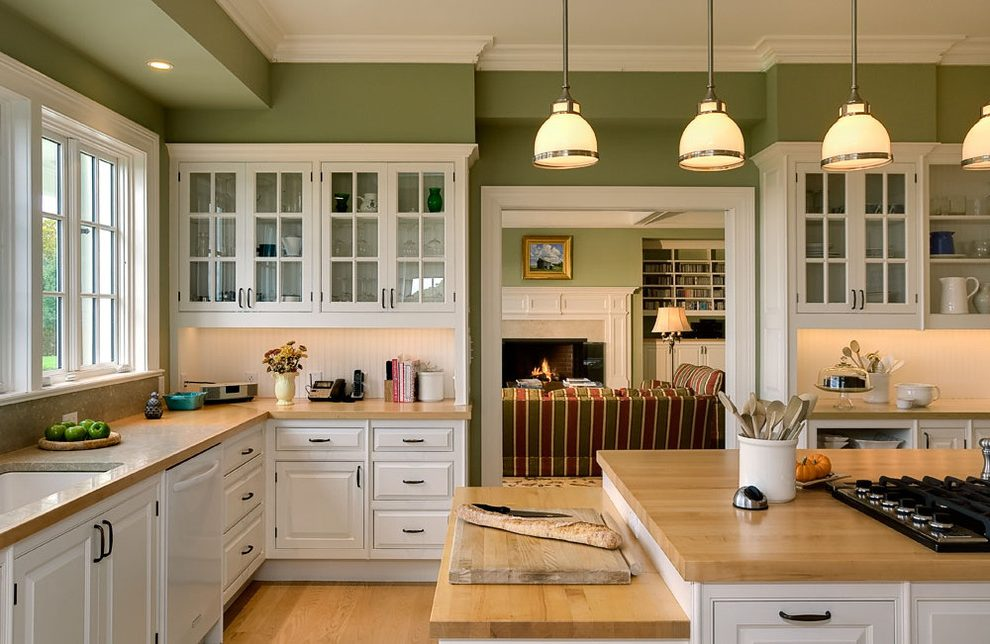 New York classic kitchens designs Kitchen Traditional with kitchen and bathroom designers butcher block countertops