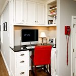 DC Metro benjamin moore revere Home Office Traditional with home stagers kitchen corner