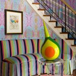 DC Metro purple color combos Staircase Eclectic with staircase and railing professionals epoxy wood ideas