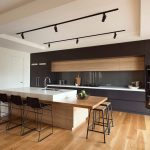 Melbourne built in cabinets around Kitchen Modern with kitchen and bathroom remodelers black