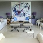 Miami purple color combos Living Room Transitional with chimney cleaners analogous scheme