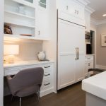 Good-Looking luxury kitchen cabinets Transitional Kitchen in Montreal with green and dining hutch