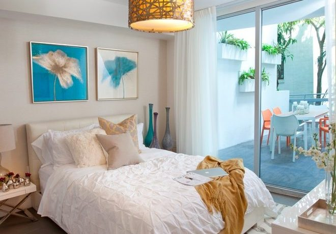 Extraordinary modern bedroom decoration Interior Designers Miami Modern in South Beach Chic with beach and gray green kitchen