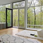 Magnificent ebay wool rugs Modern Living Room in New York with awning window and sill