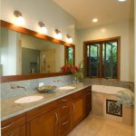 Splendid faux bois mirror in with hers and his