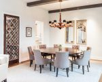 Blooming Ethan Allen Round Dining Table Designing Tips with Lighting Designers and Suppliers Neutral Color Scheme