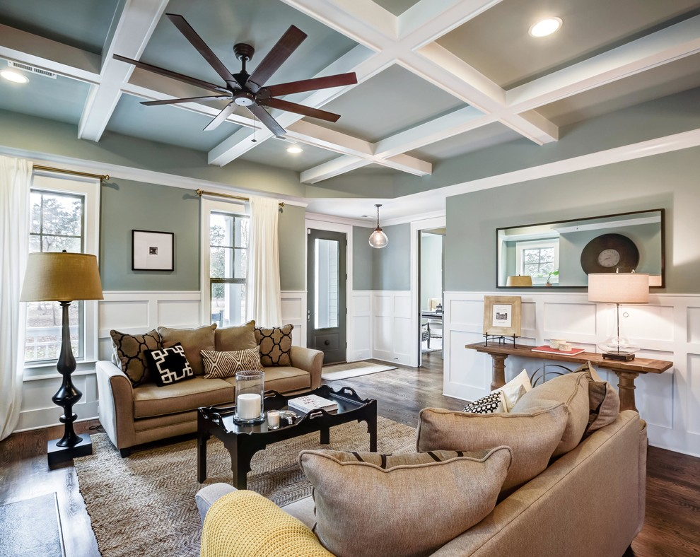 how to paint tray ceilings with color