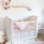 Beautiful Pink Tulle Crib Skirt Nursery Traditional with Baby Girl Bedding Linen For Girls