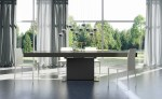 Pleasing Extendable Dining Table Dining Room Contemporary with Modern Contemporary Tables Glass Park