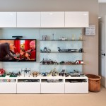 Awesome Basement Playroom Design Ideas Kids Transitional With White Molding And Beige Carpet Beige Carpet Wall Entertainment Center Frosted Glass
