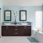 Awesome Lowes Bath Mirrors Bathroom Contemporary With Ocean Theme Bathroom And Vanity Sconce Beach Themed Bathroom Blue Accents Casual Elegance Cool