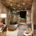 Dishy Ronbow Bath Furnishings Bathroom Contemporary With Stone Ceiling And Spanish Oaks Bath Accessories Ceiling Lighting Contemporary Floor Tile