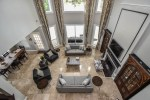 Extraordinary World Market Mirror Modern Century interior Remodel with Attached Dining Room Travertine Coffee Tables High Ceilings Drapes Open Floor Plan World Market Concept Restoration