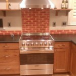 Good-Looking Recycled Glass Backsplash Contemporary Fire And Clay Recycled Glass With Black Countertop And Black Countertop Black Countertop Fire Clay